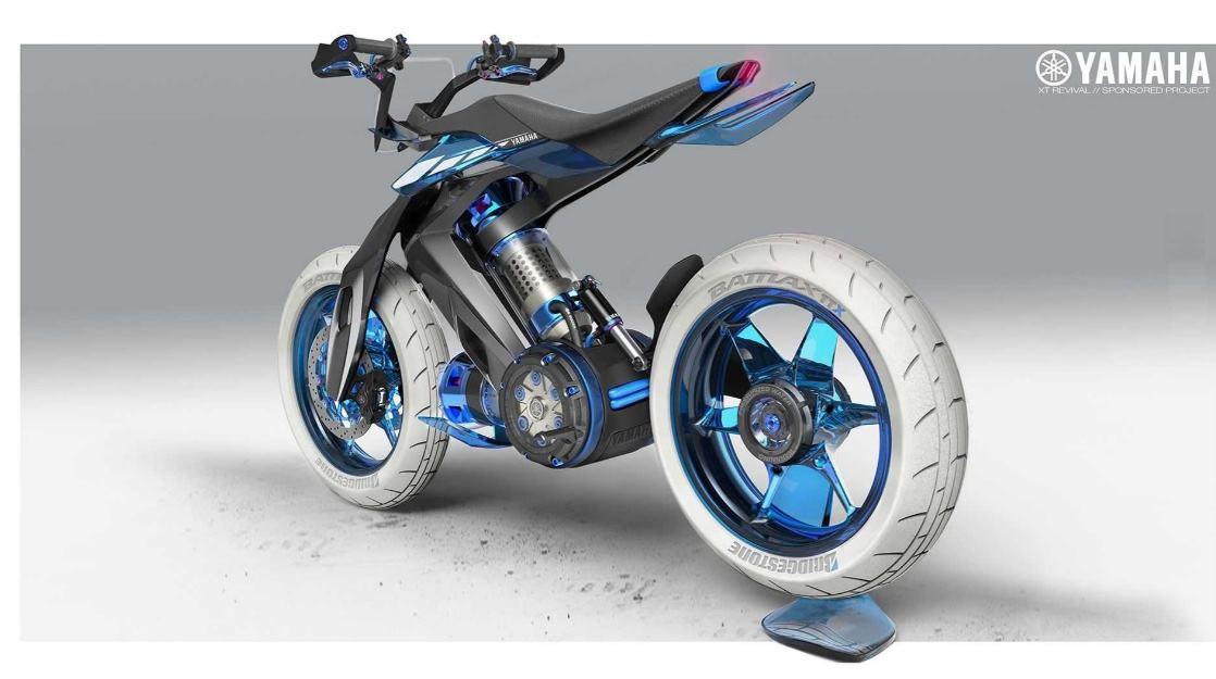 XT500 H2O, la moto de Yamaha que funcionaría con agua