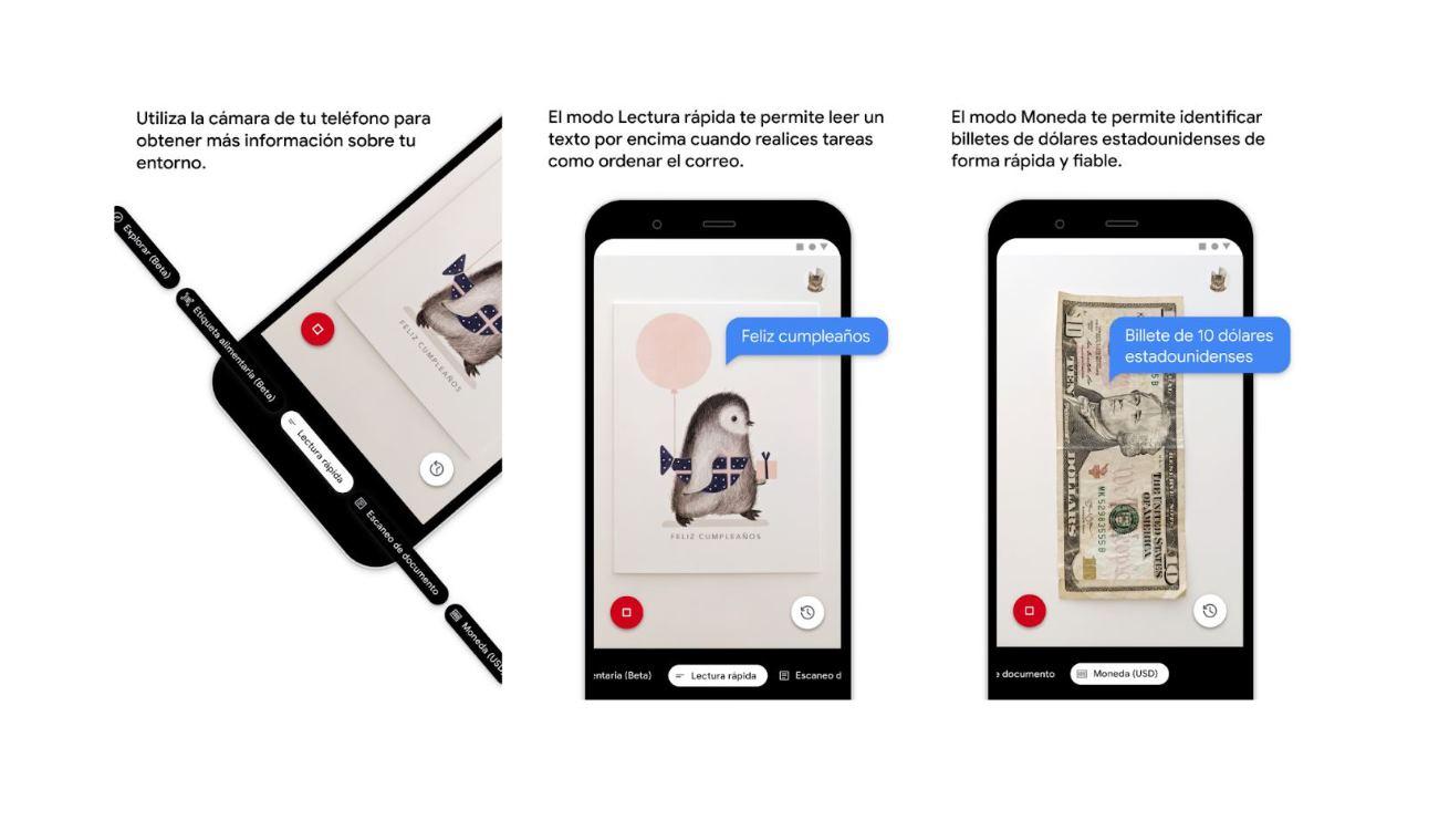 Google Lookout ya en español, para personas con deficiencia visual