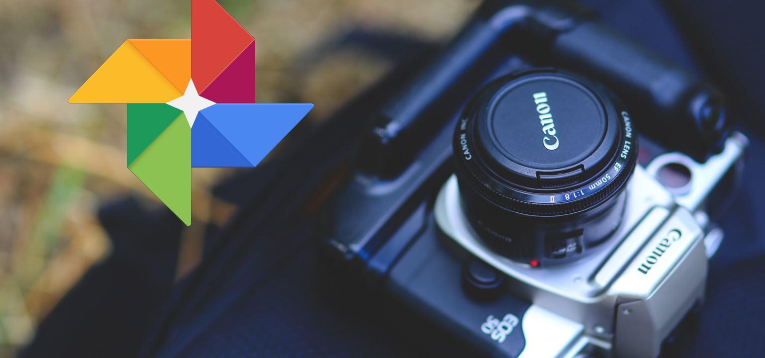 Cámaras Canon que suben fotos directamente a Google Fotos
