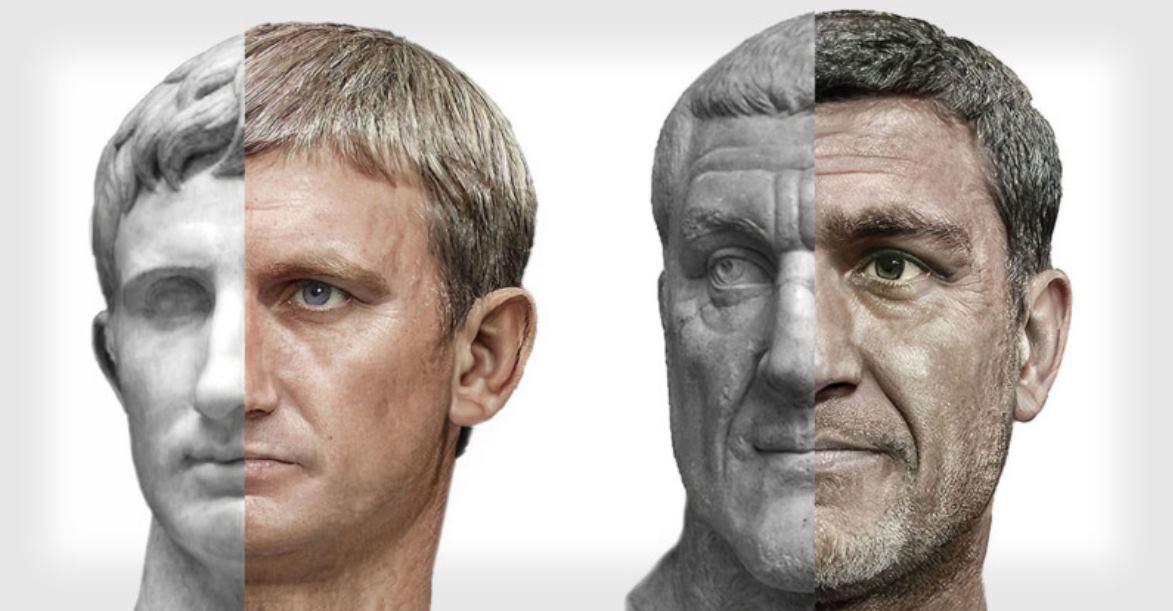 Emperadores Romanos – Una Inteligencia Artificial nos dice cómo eran en realidad
