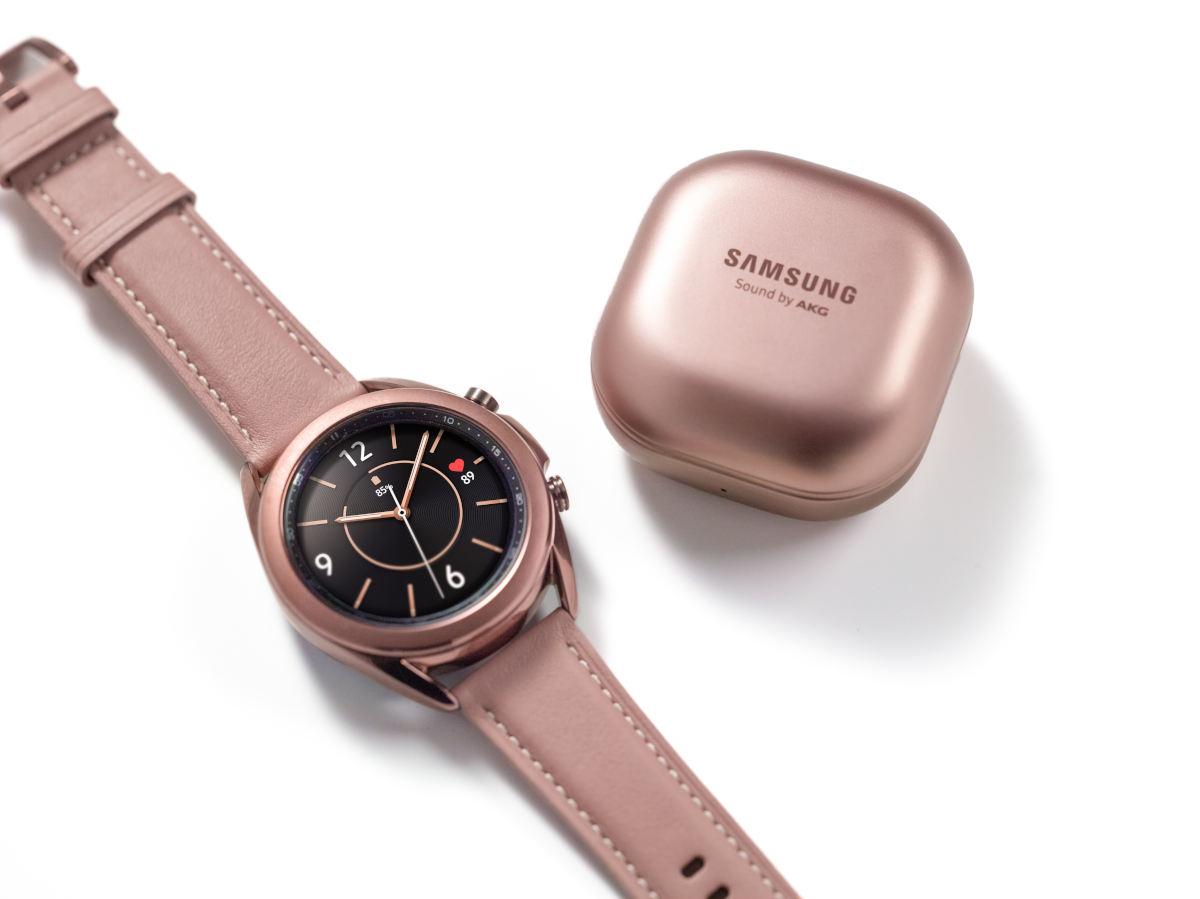 Galaxy Watch3 y Galaxy Buds Live, los nuevos wearables de Samsung