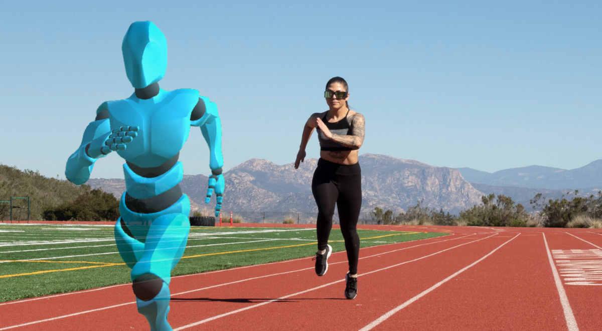 Ghost Pacer, un compañero de realidad aumentada para salir a correr