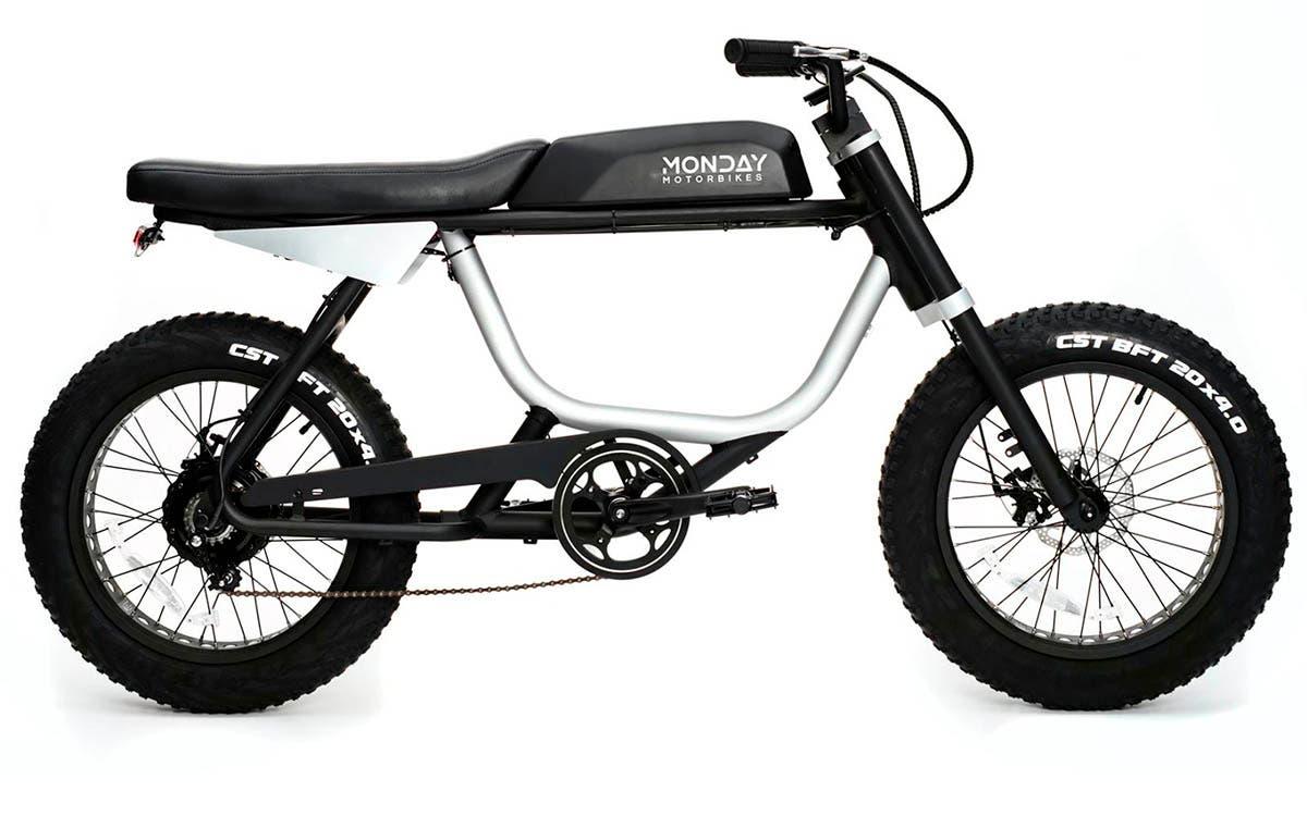 Bicicleta eléctrica Anza, modelo económico y de gran utilidad para recorrer la ciudad