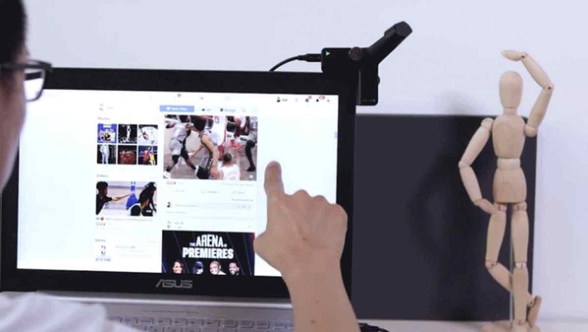 Este dispositivo permite añadir soporte táctil a cualquier monitor de ordenador