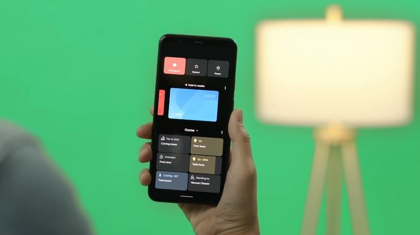 Controles en dispositivos inteligentes del hogar