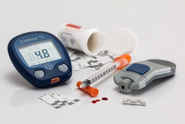 dispositivo de insulina para niños entre 2 y 6 años