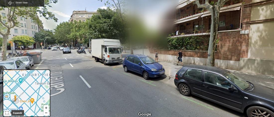 Difuminar casa en Google Maps
