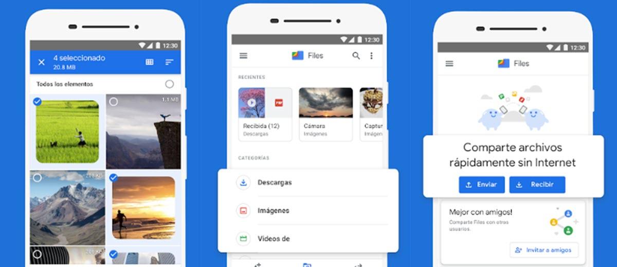 El administrador de archivos de Google añade lector de PDF en el móvil