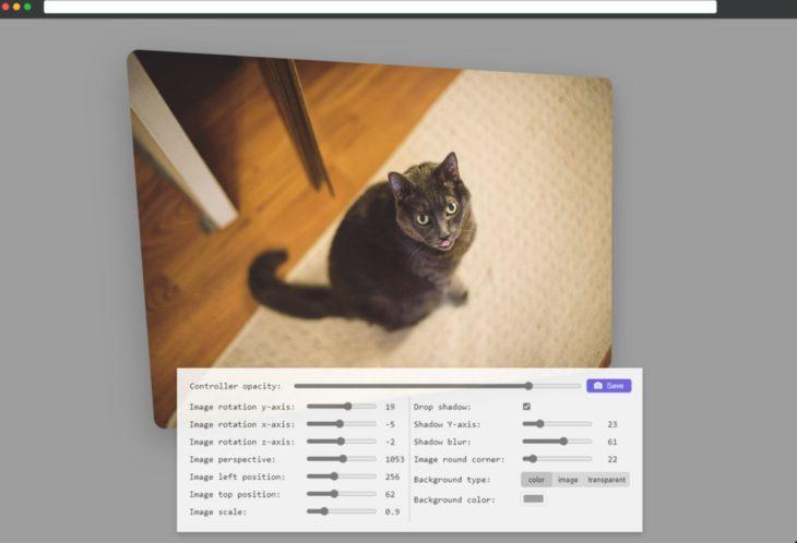 limus, sitio web para añadir efectos 3d a imagenes