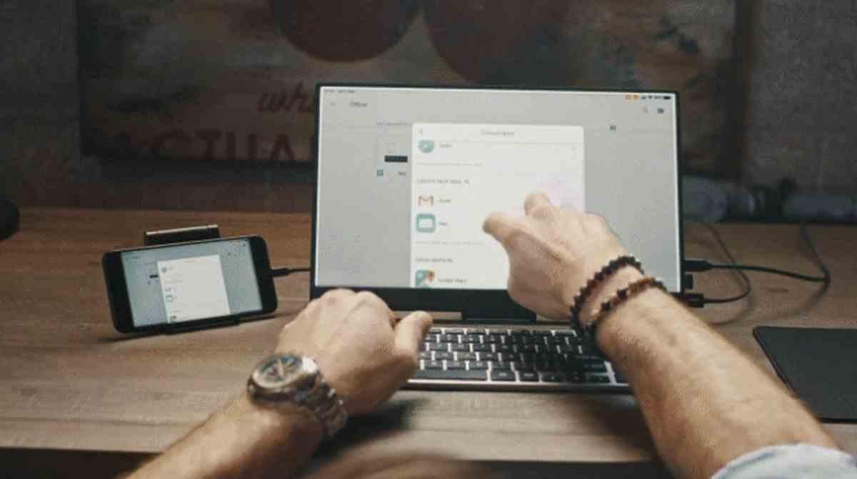 PhonePad, un monitor secundario para ser más productivos con los teléfonos móviles, y más