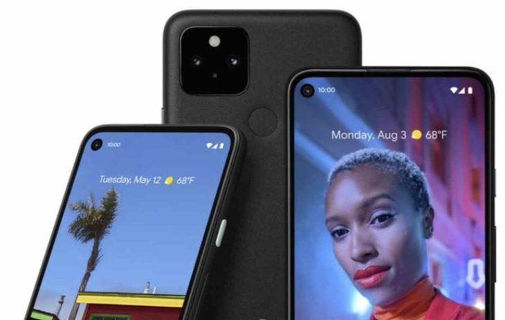 Pixel 4a 5G y Pixel 5