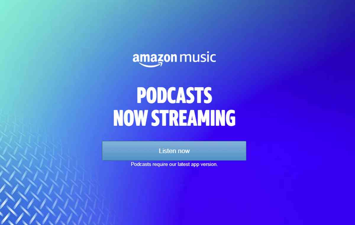 Amazon Music añade soporte para podcasts