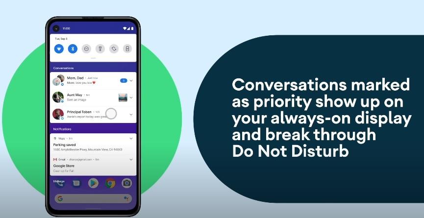 Prioridad en conversaciones