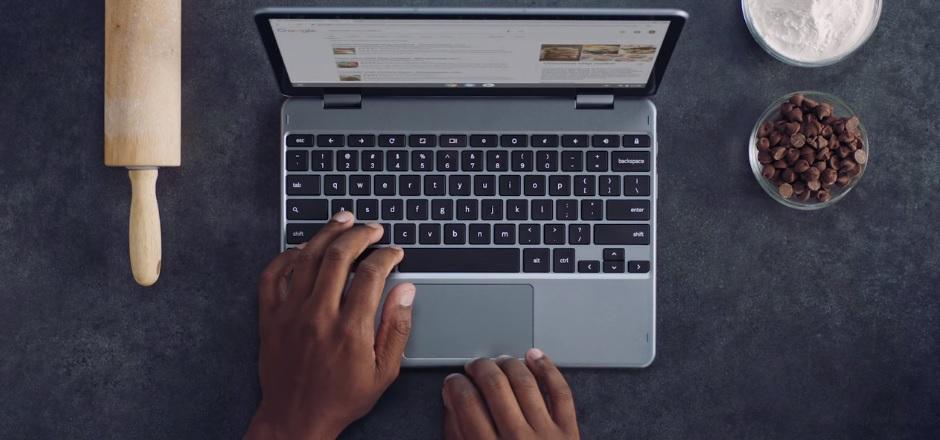 Tomar screenshots en Chromebook