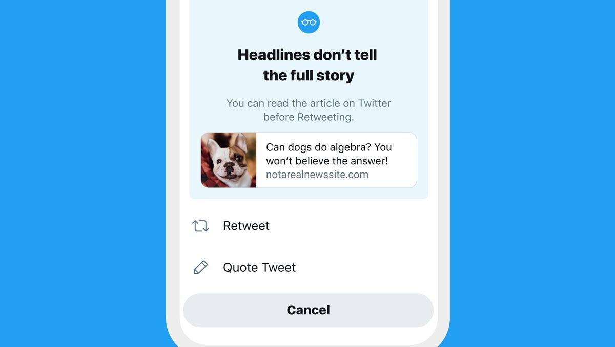 Twitter dice que su experimento funciona: más usuarios leen el contenido que comparten