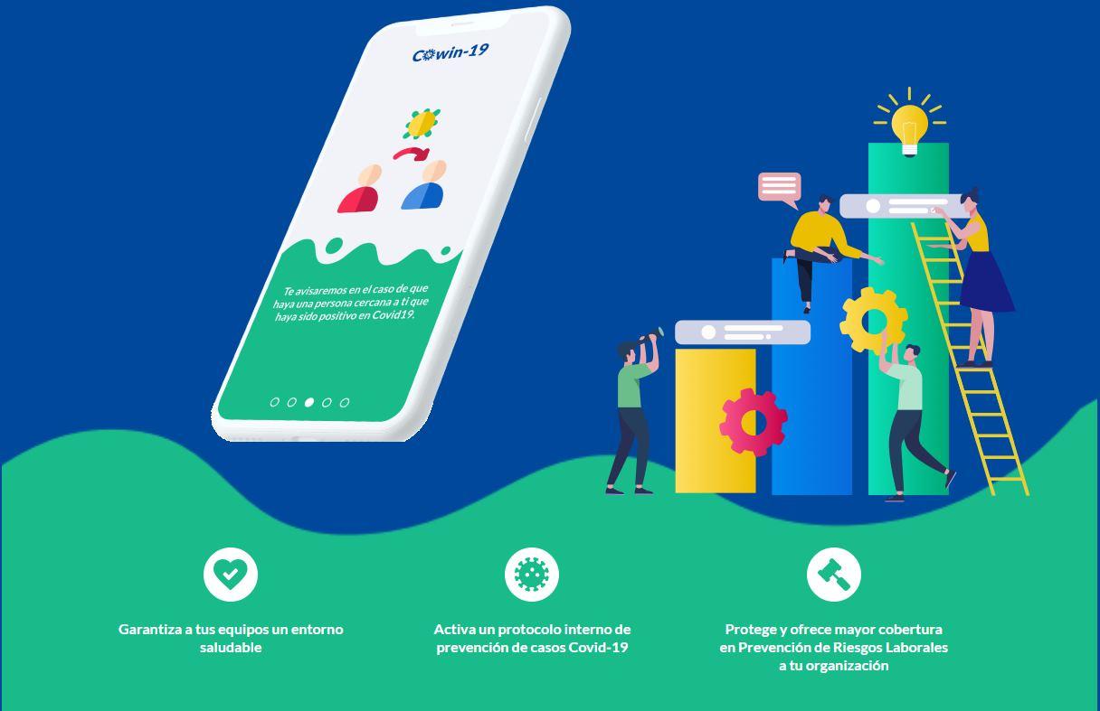 COwin-KIDS, una app para controlar el COVID en los colegios
