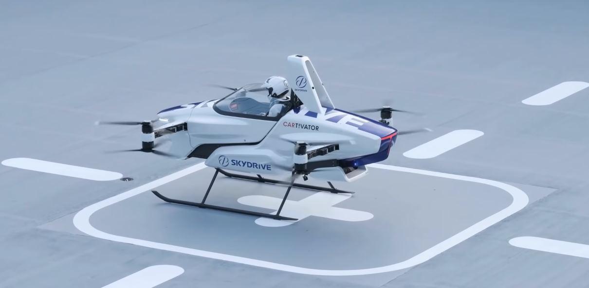 El coche volador de Skydrive, en vídeo