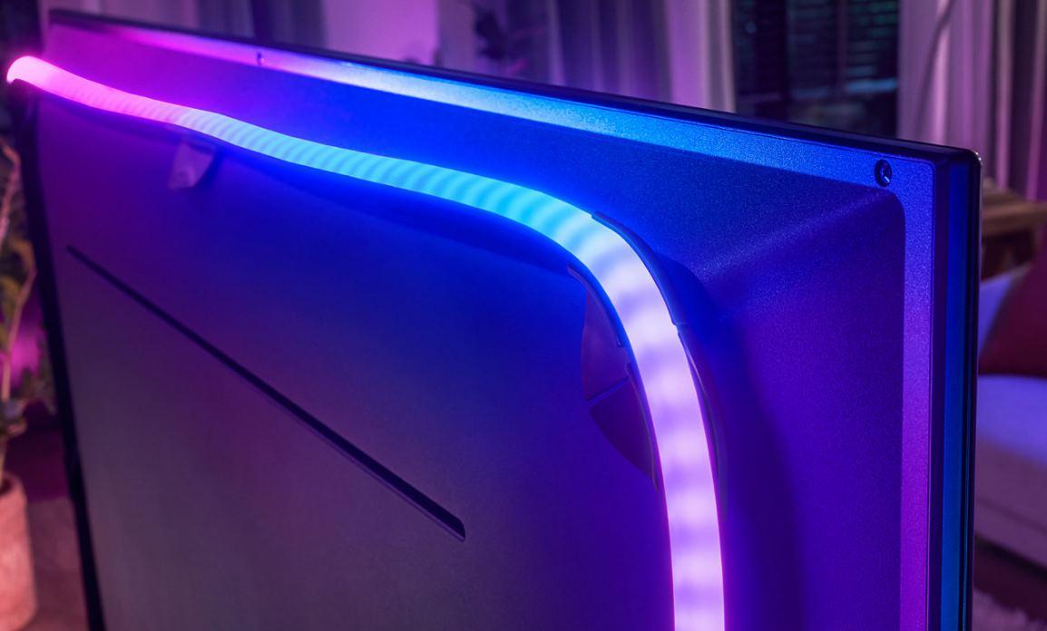 Philips apuesta también por los LEDs que cambian de color detrás de la TV