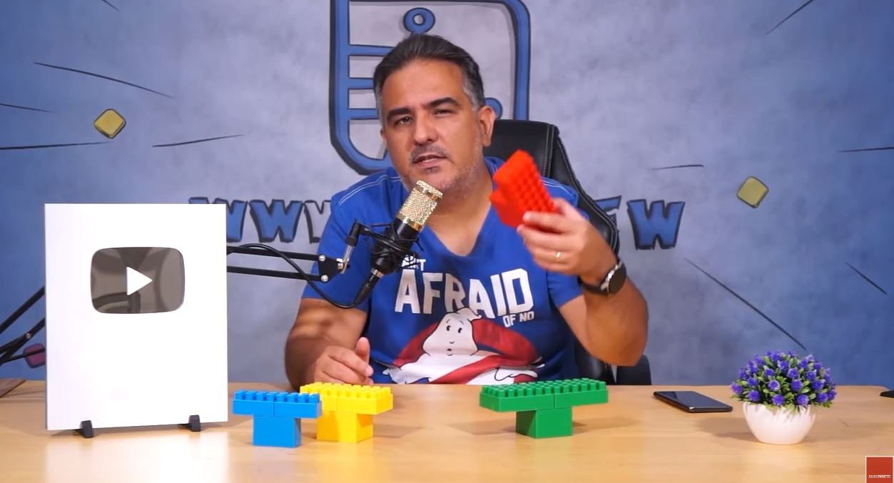 Radar COVID explicado con piezas de LEGO
