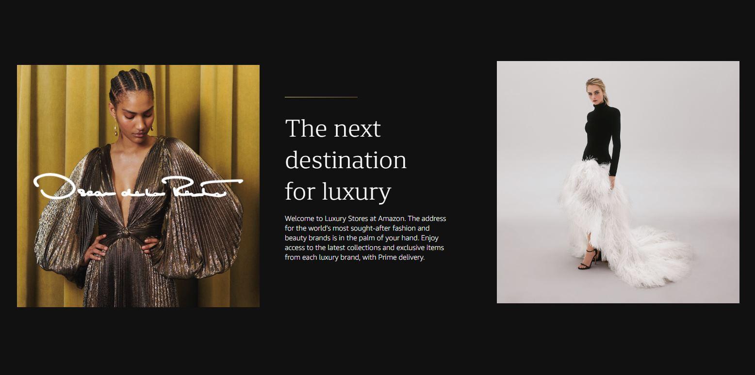 Amazon lanza Luxury Stores, tiendas de ropa de lujo online