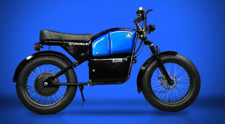 Atum 1.0, la moto eléctrica de 570 euros, ya en el mercado