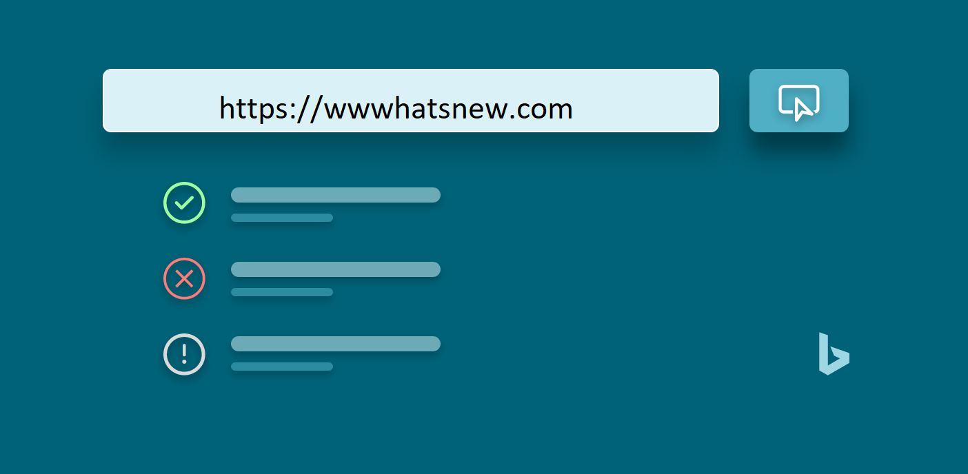 Bing Webmasters Tool, herramienta de inspección de URL que te ayudará a mejorar el desempeño de tu sitio web