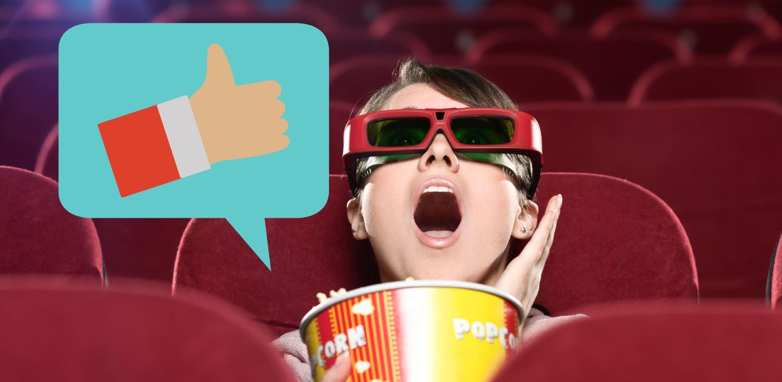 Dos sitios de recomendación personalizada de películas