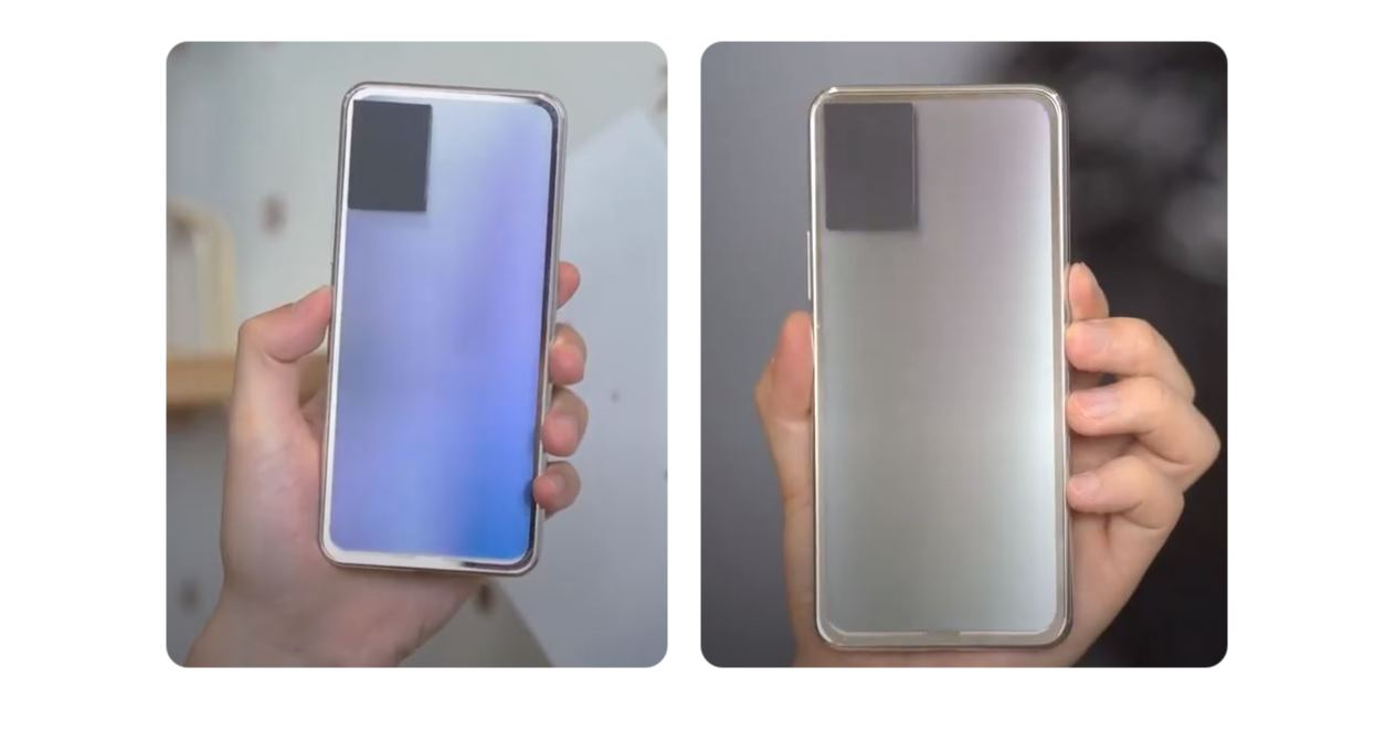 Vivo muestra un móvil que cambia de color al apretar un botón