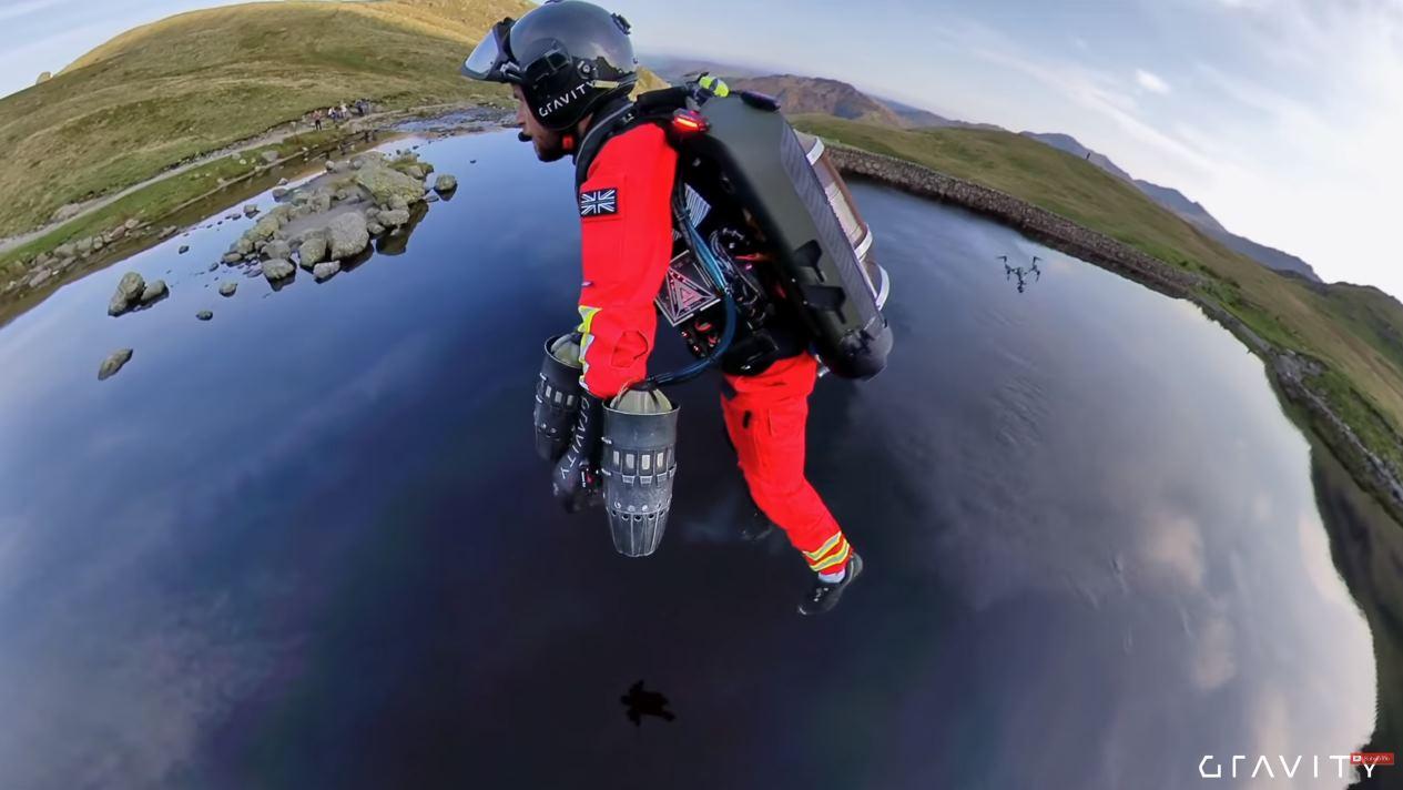 Paramédicos que vuelan, la nueva utilidad de los Jetpack