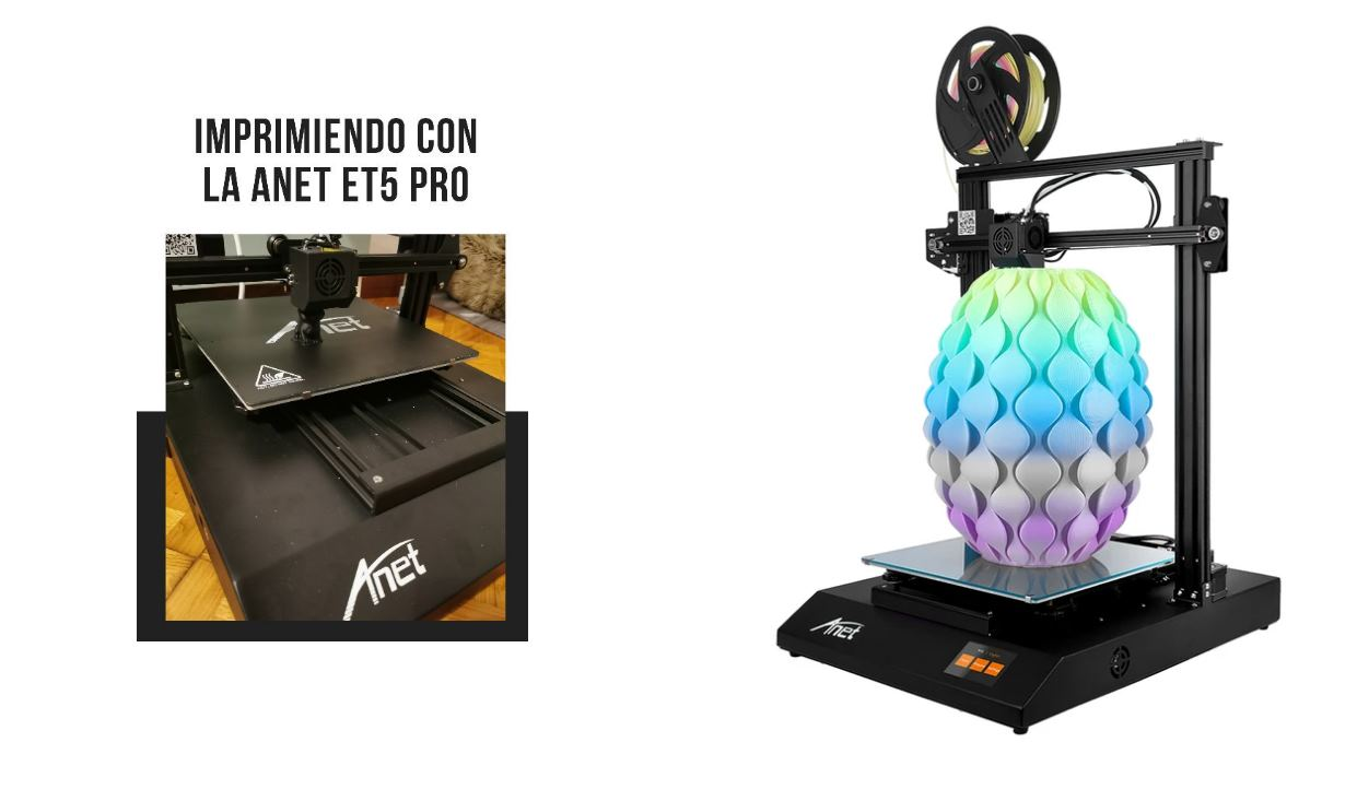 Anet ET5 Pro, así es la nueva impresora 3D silenciosa de Anet