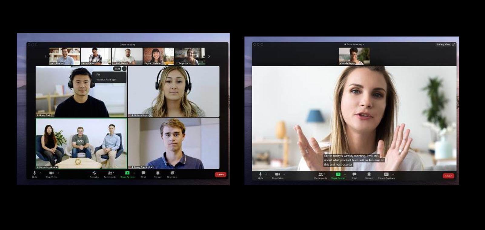 Estas son las novedades de Zoom: fijar varios vídeos, accesibilidad y más
