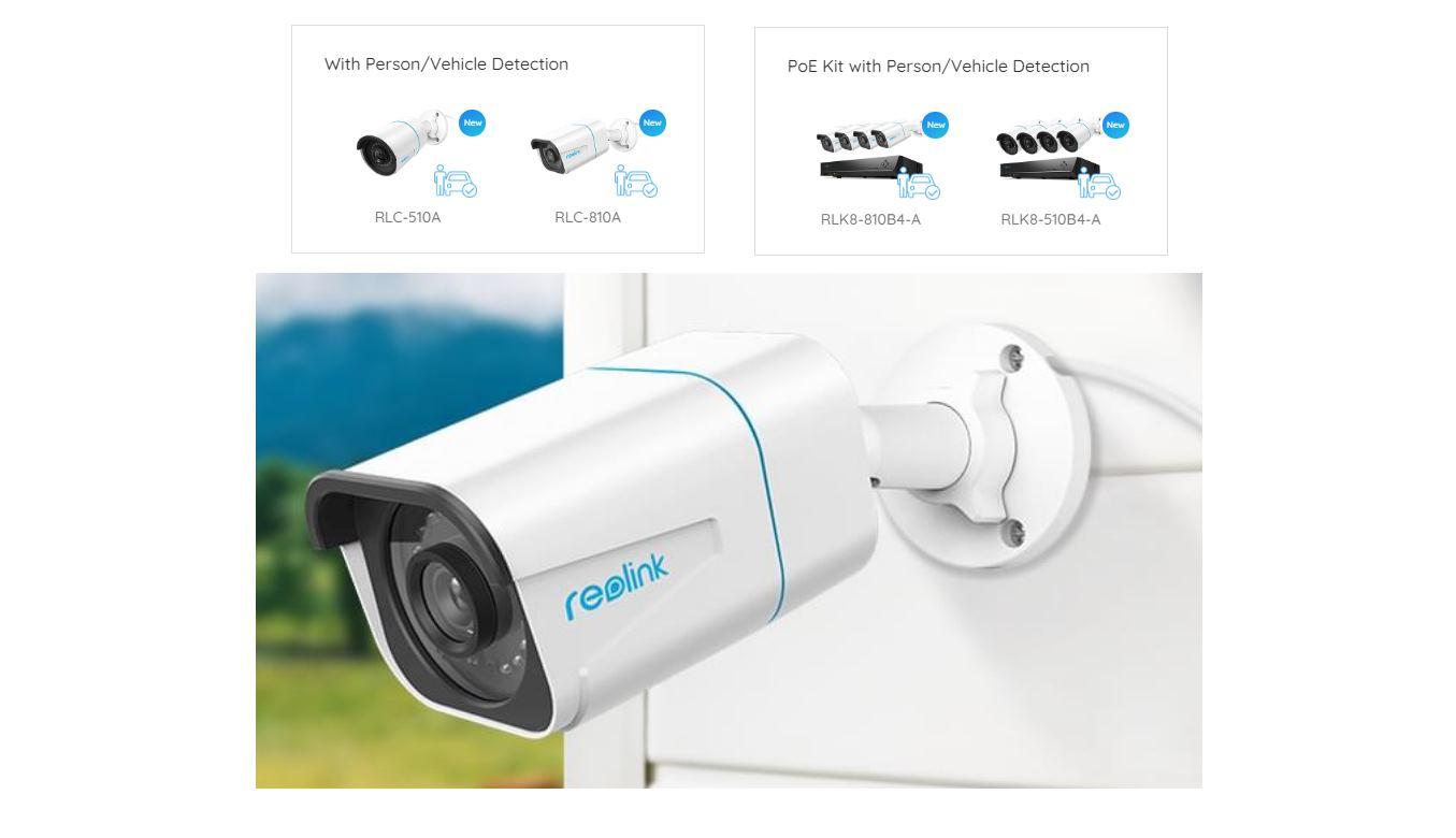 Reolink presenta nuevas cámaras con detección inteligente