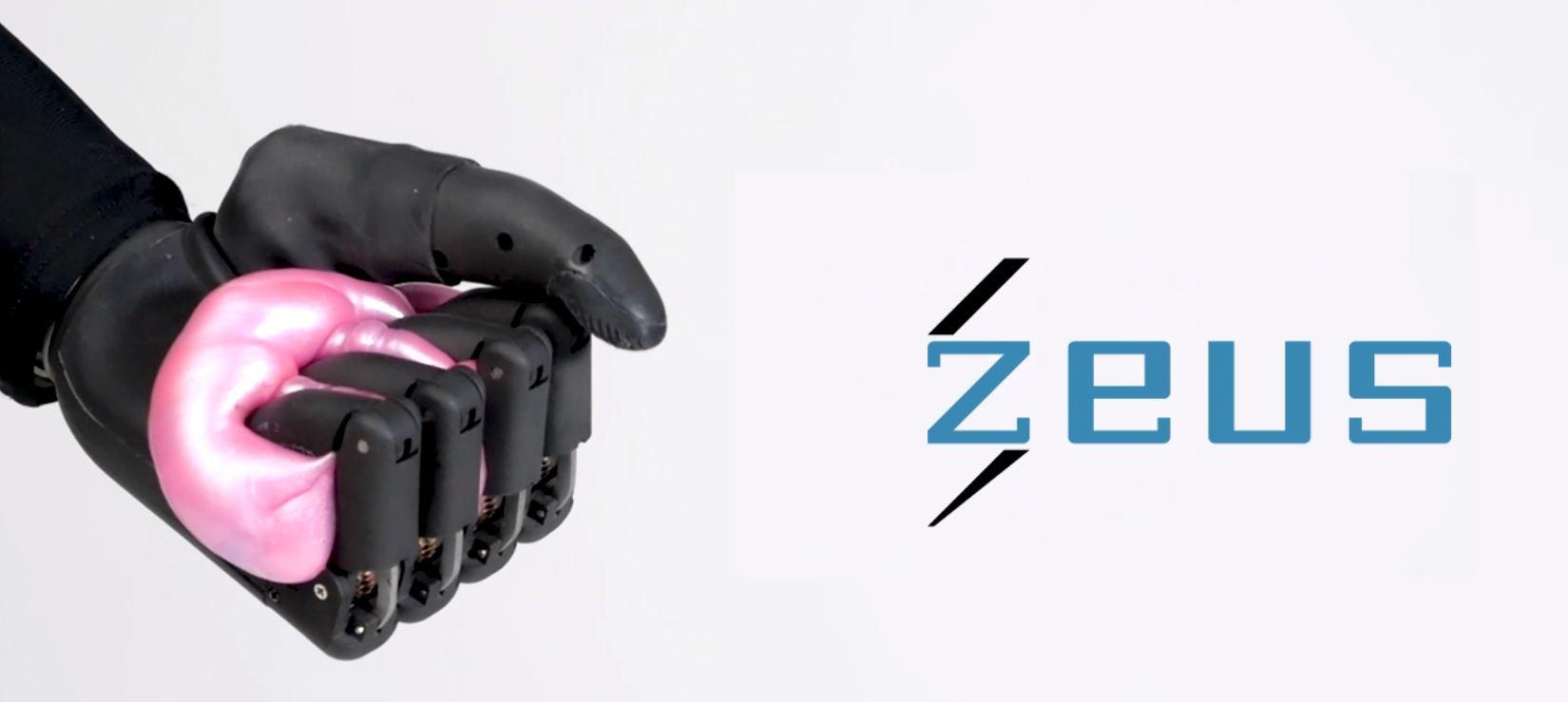 Zeus, la mano protésica más avanzada del momento