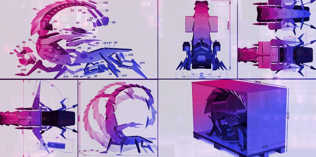 silla escorpión