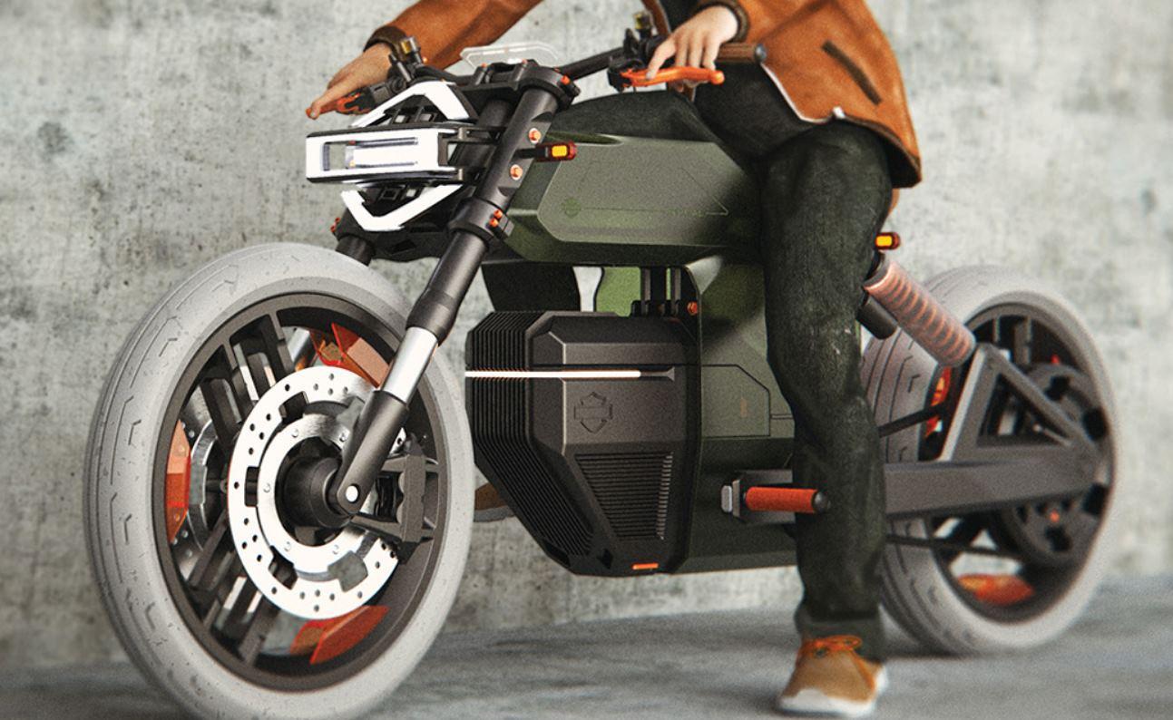 Así podría ser la nueva Harley-Davidson