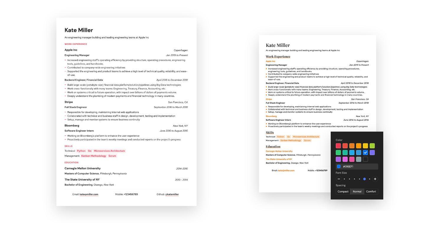 Nueva forma de crear tu CV de forma elegante por Internet