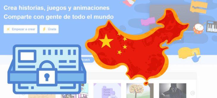 china bloquea scratch