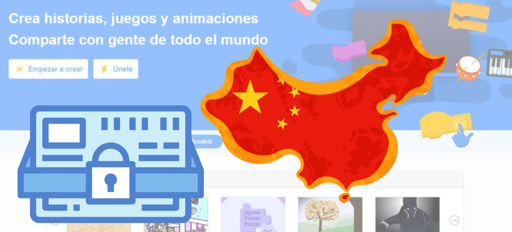 china bloquea scratch