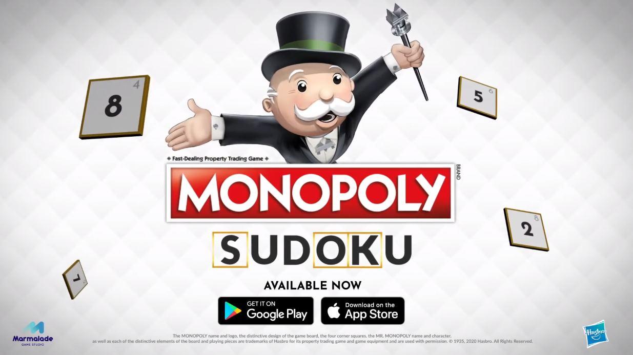 Monopoly Sudoku, lo último de Marmalade Game Studio