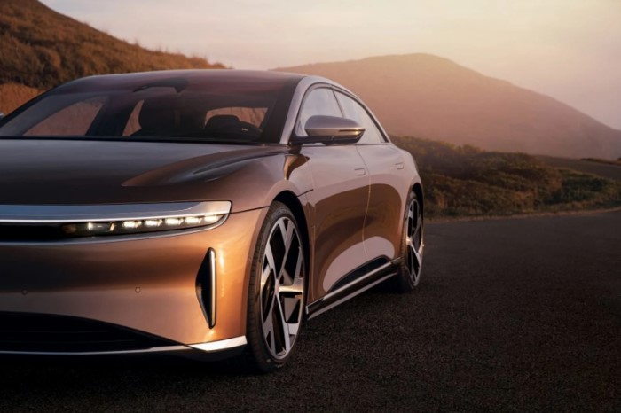 coche electrico lucid air