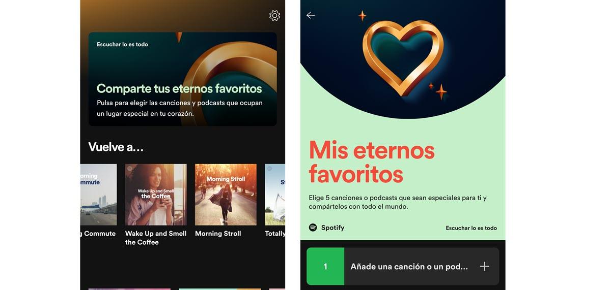 favoritos Spotify