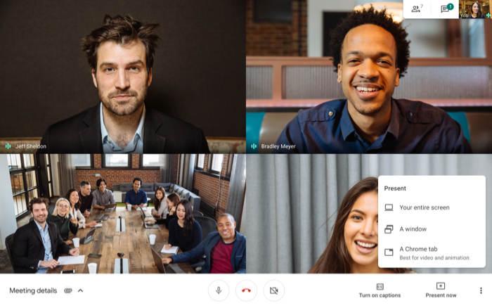 Primeros pasos Google Meet