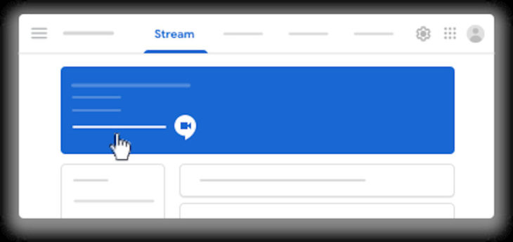 Google Meet streaming
