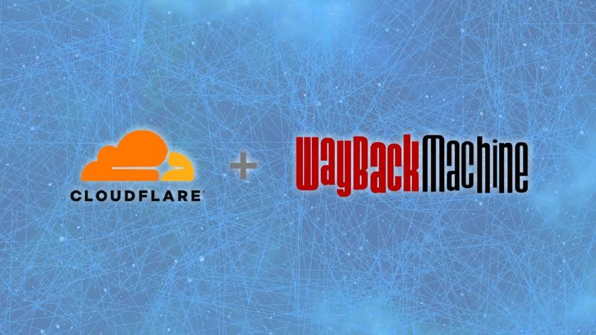 Cloudflare + Wayback Machine