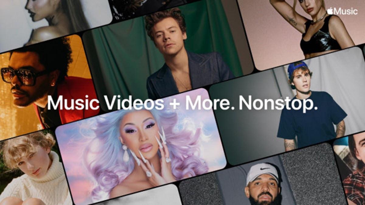 Así es la nueva propuesta de Apple para ver vídeos musicales todo el día