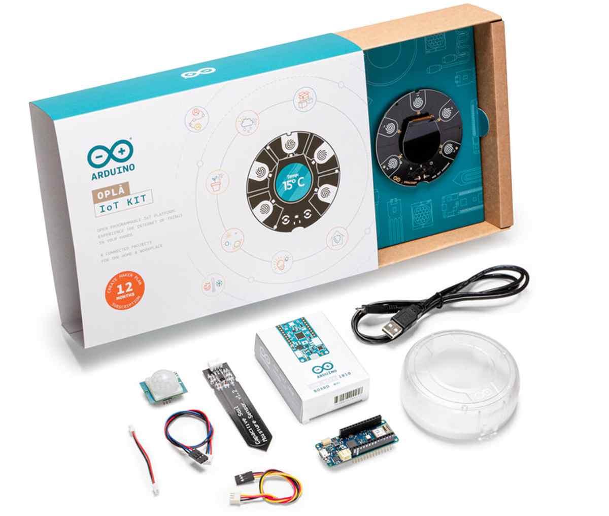 Arduino lanza su propio kit de creación de proyectos IoT personalizados