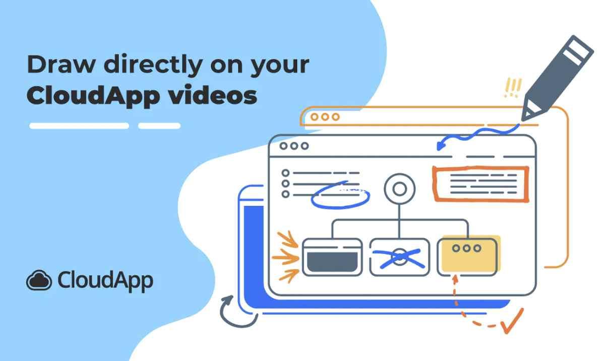 CloudApp, para crear grabaciones y capturas de pantalla, estrena las anotaciones en vídeo