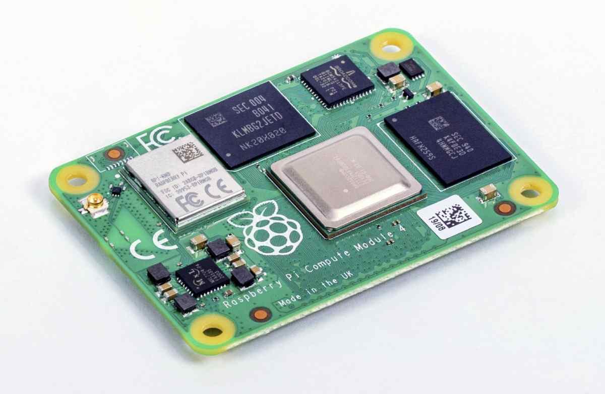 Llega la variante para usos comerciales de la Raspberry Pi 4: con más potencia y nuevo diseño