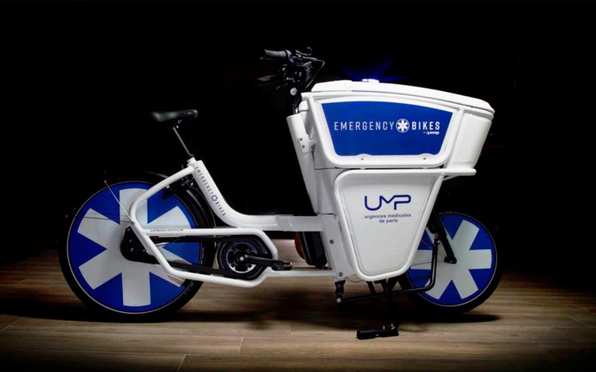 Emergency Bikes, bicicletas eléctricas diseñadas para médicos