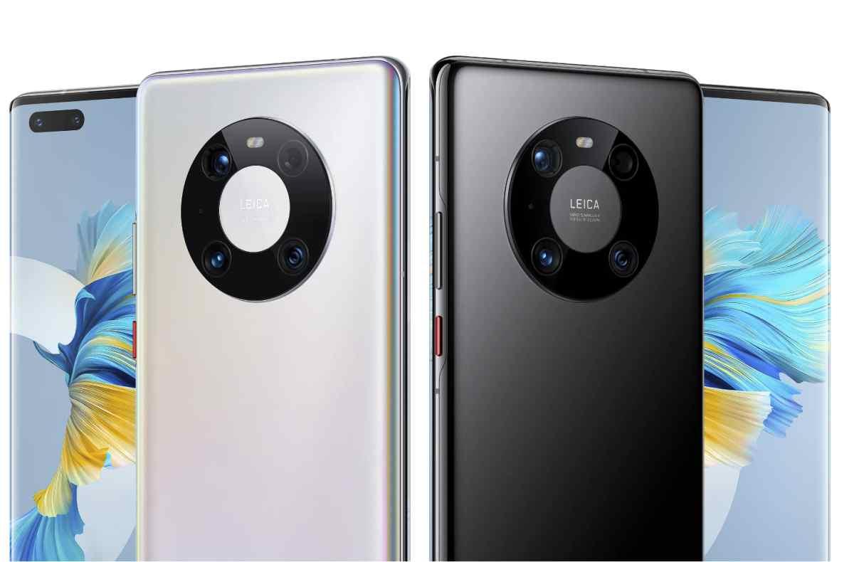 Así queda la nueva serie de teléfonos Mate 40 de Huawei